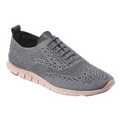 Women's Cole Haan ZEROGRAND Stitchlite Sneaker Ironstone/Leather/Tropical Peach Knit