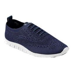 Women's Cole Haan ZEROGRAND Stitchlite Sneaker Marine Blue/Leather/Optic White Knit