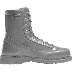 Men's Danner Stalwart 8in Waterproof Work Boot Black Full Grain Leather/1000 Denier Nylon