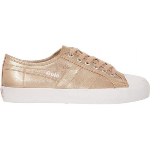 10a2b2ddf693 Shop Women s Gola Coaster Metallic Sneaker Rose Gold Textile - Free  Shipping Today - Overstock.com - 14667369