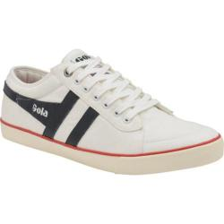 Men's Gola Comet Casual Sneaker White/Navy/Red Canvas