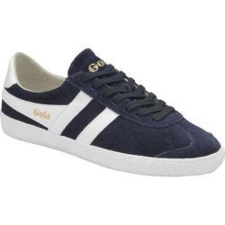 Women's Gola Specialist Casual Sneaker Navy/White Suede