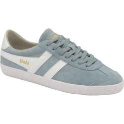 Women's Gola Specialist Casual Sneaker Sky Blue/White Suede