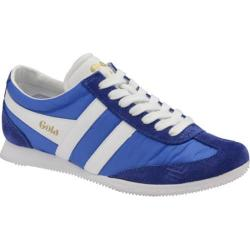 Women's Gola Wasp Sneaker Reflex Blue/White Nylon/Suede