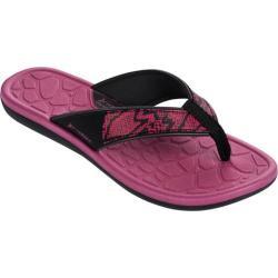 Women's Rider Cloud IV Thong Sandal Black/Pink