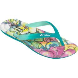 Women's Rider CW Smoothie Thong Sandal Blue/Green (4 options available)
