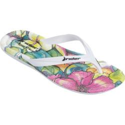 Women's Rider CW Smoothie Thong Sandal White