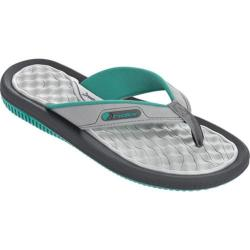 Women's Rider Dunas XI Thong Sandal Green/Grey