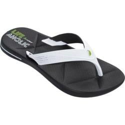 Men's Rider Easy II Thong Sandal Black/White
