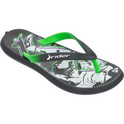 Children's Rider Energy IV Thong Sandal Grey/Green