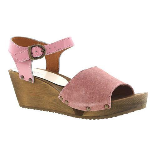 0d25d853e22f Shop Women s Sanita Clogs Edel Quarter Strap Sandal Rose Suede Patent Leather  Strap - Free Shipping Today - Overstock - 14667587
