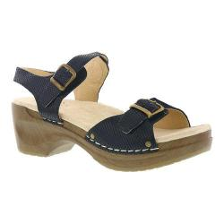 Women's Sanita Clogs Davia Black Leather