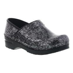 Women's Sanita Clogs Pearlized Marble Closed Back Clog Black Printed Patent Leather|https://ak1.ostkcdn.com/images/products/176/233/P21203427.jpg?impolicy=medium