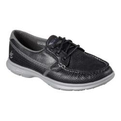 Women's Skechers GO STEP Shore Boat Shoe Black