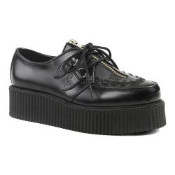 Men's Demonia Creeper 440 Black Leather (More options available)