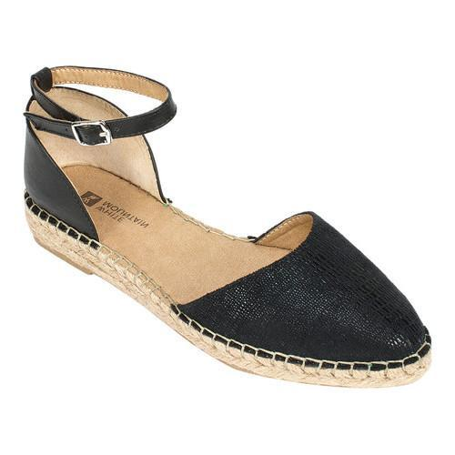 f539b324f35 Shop Women s White Mountain Cave In Flatform Espadrille Black Fabric - Free  Shipping On Orders Over  45 - Overstock.com - 14675332