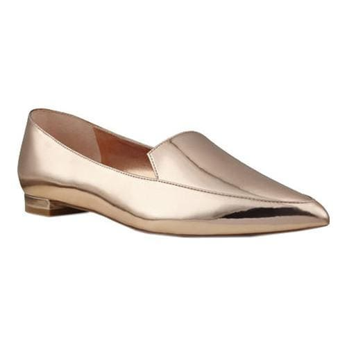 e8a15a9dcdf Shop Women s Nine West Abay Pointy Toe Loafer Rose Gold Leather - Free  Shipping Today - Overstock - 14683186