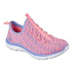 Women's Skechers Flex Appeal 2.0 Insights Walking Sneaker Pink/Lavender
