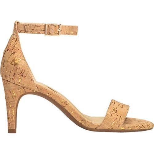 ... Faux Cork; Women's Aerosoles Laminate Ankle Strap Sandal Cork  Combo Metallic Fleck ...