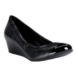 Women's Cole Haan Elsie II Wedge Pump Black Leather