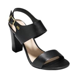 Women's Cole Haan Octavia II Slingback Sandal Black Leather