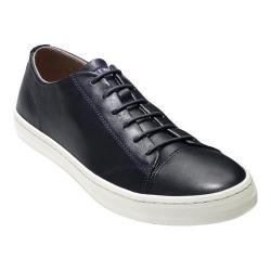 Men's Cole Haan Trafton Lux II Cap Toe Sneaker Blazer Blue Handstain Leather