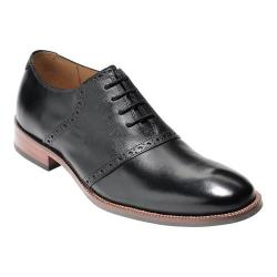 Men's Cole Haan Williams II Saddle Oxford Black/Black Leather