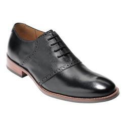 Men's Cole Haan Williams II Saddle Oxford Black/Black Leather