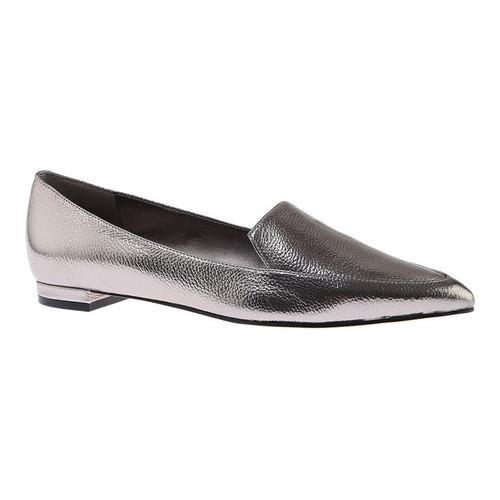3068dede6a2 Shop Women s Nine West Abay Pointy Toe Loafer Pewter Metallic Synthetic -  Free Shipping Today - Overstock.com - 14694996