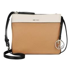 Women's Nine West Helda Medium Crossbody Milk/Dark Camel/Black