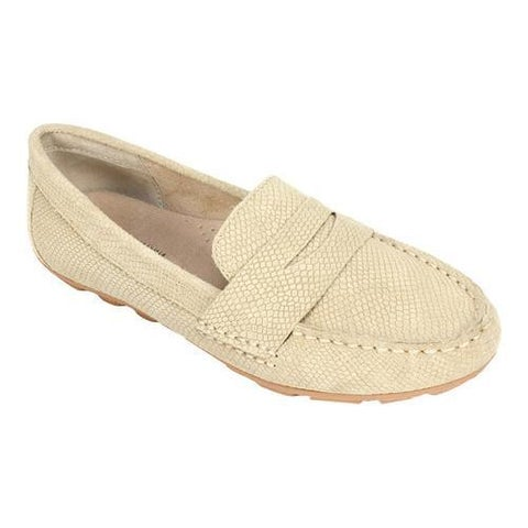 Women's White Mountain Skipper Sand Exotic Print Nubuck