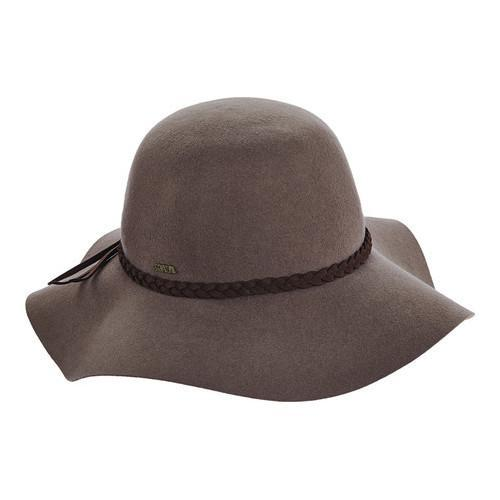 Shop Women s Scala LF213 Floppy Sun Hat with Suede Braid Taupe - Free  Shipping On Orders Over  45 - Overstock - 14649935 8deb96de84ec