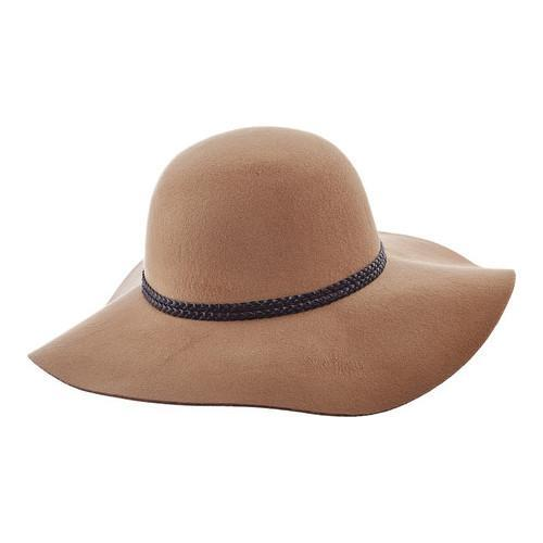 352954fd30bb43 Shop Women's Scala LW640 Ultrafelt Sun Hat with Braided Trim Camel - Free  Shipping On Orders Over $45 - Overstock - 14649969