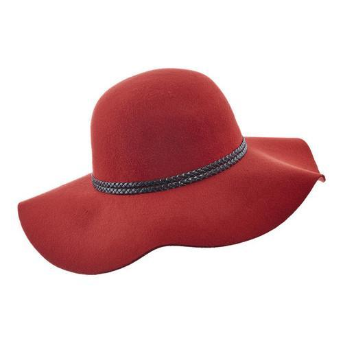 d9940c89 Shop Women's Scala LW640 Ultrafelt Sun Hat with Braided Trim Rust - Free  Shipping On Orders Over $45 - Overstock.com - 14649970