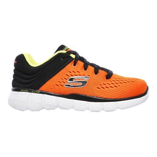 Skechers Kids Boys Equalizer 2.0 Junior Slip On Shoes Trainers Lightweight