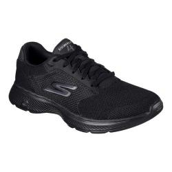 Men's Skechers GOwalk 4 Sneaker Black/Black