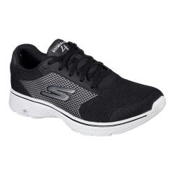 Men's Skechers GOwalk 4 Sneaker Black/Gray/Gray