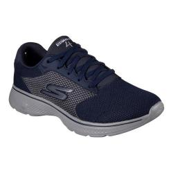 Men's Skechers GOwalk 4 Sneaker Navy/Gray