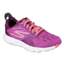 Women's Skechers GOrun Ride 6 Running Shoe Purple/Hot Pink