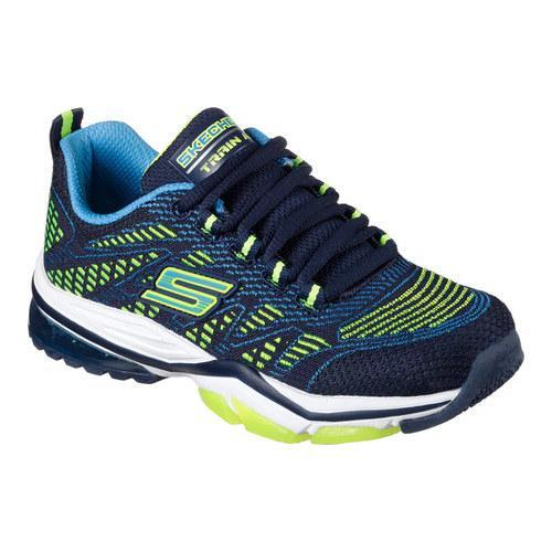 3d6ca16a8e993 Shop Boys  Skechers Skech Train Air Swift Blitz Trainer Navy Blue - Free  Shipping Today - Overstock - 14650033