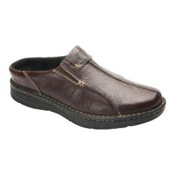 Men's Drew Jackson Mule Brown Leather