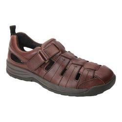 Men's Drew Dublin Fisherman Sandal Brandy Leather