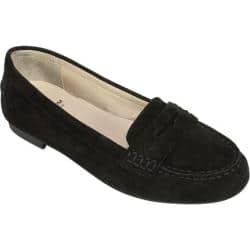 Women's White Mountain Markos Penny Loafer Black Suede|https://ak1.ostkcdn.com/images/products/176/57/P21188055.jpg?impolicy=medium