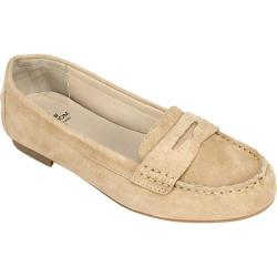 Women's White Mountain Markos Penny Loafer Saddle Suede