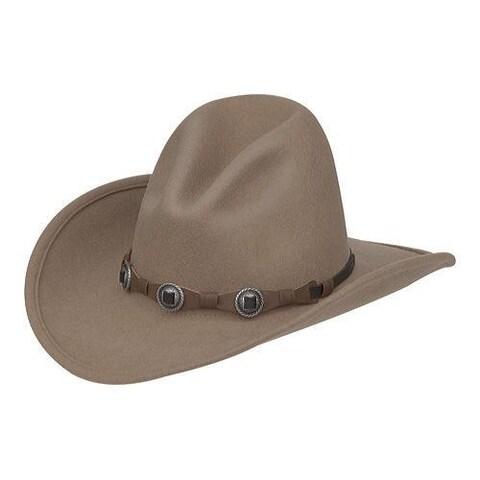 Men's Silverado Gus Crush Cowboy Hat Putty