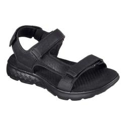 Men's Skechers On the GO 400 Explorer Sandal Black/Black