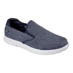 Men's Skechers On the GO Glide Slip-On Sneaker Navy/Gray