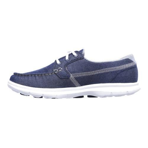 Women's Skechers GO STEP Indigo Boat Shoe Denim - Thumbnail 2