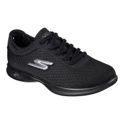 Women's Skechers GO STEP Lite Dashing Sneaker Black/Black