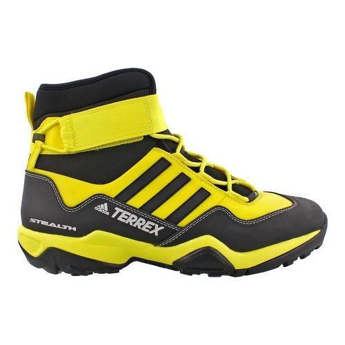 Men's adidas Terrex Hydro Lace Up Boot Bright YellowBlackWhite